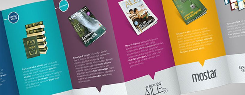 ARRANGE YOUR DISPLAYS AND LEAFLETS IN FASHION